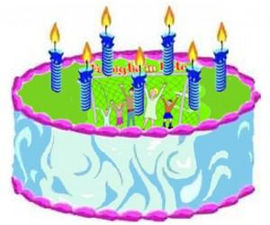 torta 7 anni