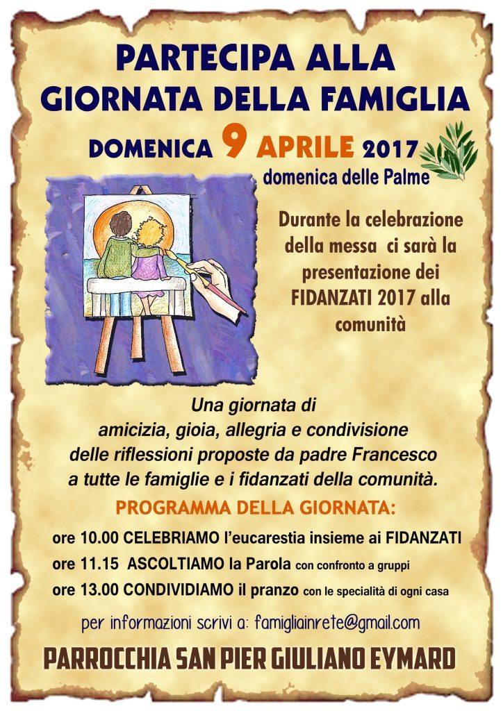 Giornata della Famiglia 9 aprile 2017